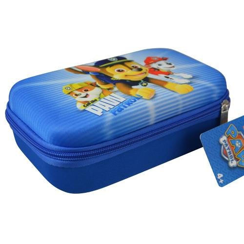 Hard Shell Zipper Pencil Case (Great for Small Toy Storage Organizer, Cosmetic Pouch etc.) (Paw Patrol) by Back to School