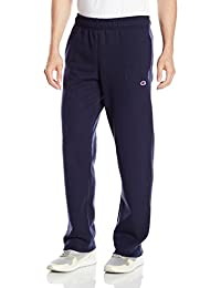 Champion Men's Powerblend Fleece Open Bttm Pant