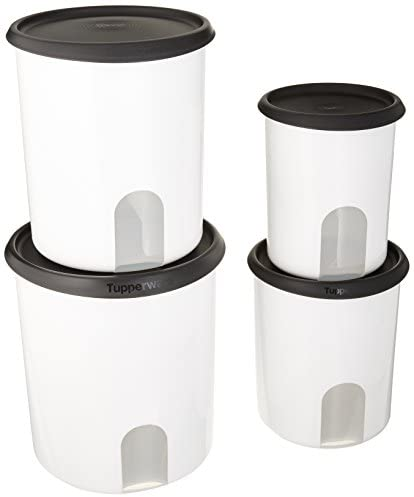 Tupperware One Touch Canisters w//Blossom Seal 13 Cups New
