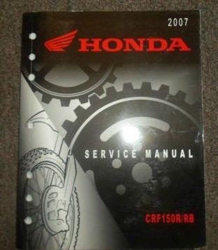 Crf150r Factory - 2007 Honda CRF150R/RB Service Shop Repair Factory Manual OEM NEW 2007 Honda CRF