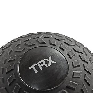 TRX Training Slam Ball, Easy-Grip Tread & Durable Rubber Shell, 20lbs