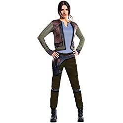 Rogue One: A Star Wars Story Women's Deluxe Jyn Erso Costume, Multi, Large