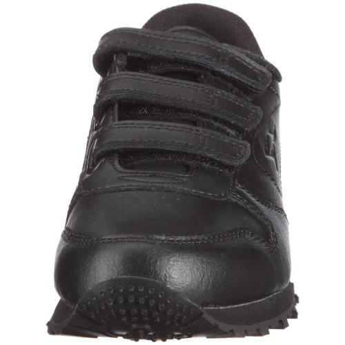 KangaROOS Classic-V 31497/000 - Zapatos de cuero para mujer Negro