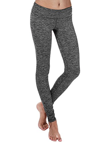 Yogareflex - Yoga Pants for Women - Athletic Yoga Pant Leggings - Hidden Pocket (From XS to 2XL), Charcoal, X-Large