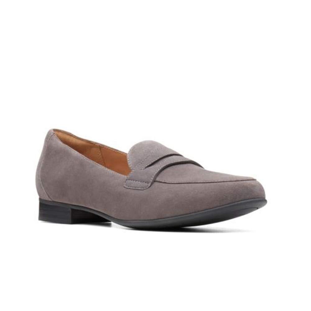 Daim gris Foncé Clarks CLARKS26137170 - Un bleush Go Femme 40 EU  N