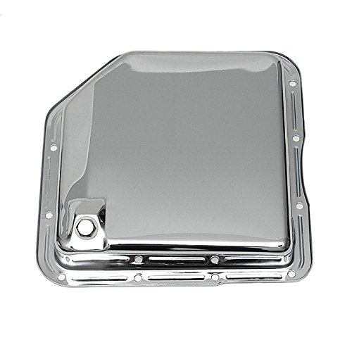 Eckler's Premier Quality Products 40169145 Full Size Chevy Transmission Pan Chrome Turbo HydraMatic350