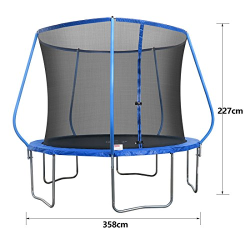 Bestvalue Go 10 Feet Round Trampoline With Safety Pad