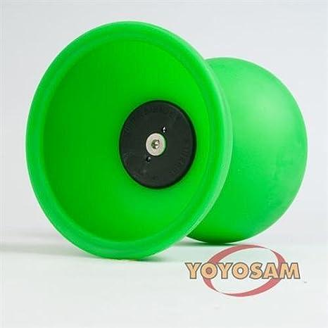 Amazon.com  Mister Babache Finesse Diabolo - Green  Toys   Games 4c02134f54d68