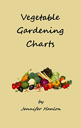 Vegetable Gardening Charts by [Hanlon, Jennifer]