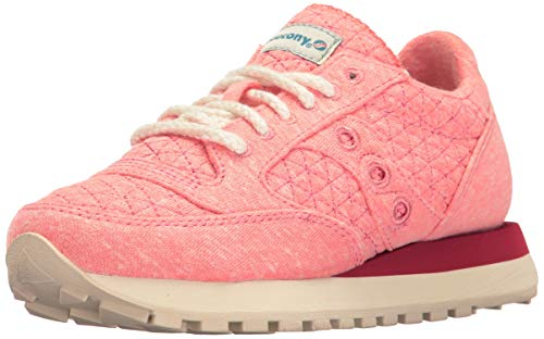 en Chaussures Femme Baskets Original Jazz Daim Sneakers Beige Pink Saucony wqFBx6IF