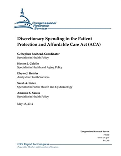 Book Discretionary Spending in the Patient Protection and Affordable Care Act (ACA)