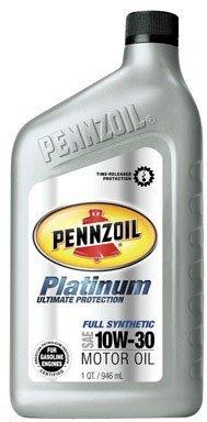 Price comparison product image Pennzoil Platinum Synthetic Motor Oil Sae 10w-30 1 Qt.