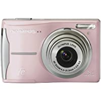 Olympus FE-46 12MP Digital Camera with 5x Optical Zoom and 2.7 inch LCD (Light Pink) Key Pieces Review Image