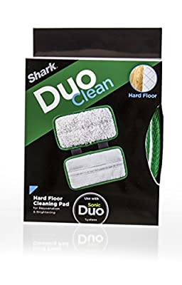 Shark Wood & Hard Floor Washable Cleaning Pad for Use with Sonic Duo System (XTRU800)