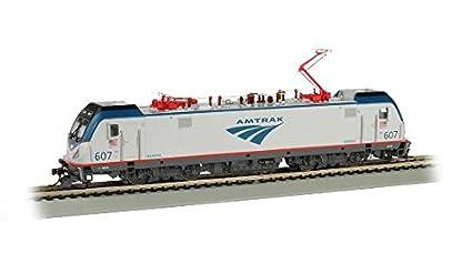 Amazon com: Bachmann BAC67401 HO ACS-64 w/Sound Value, Amtrak #607