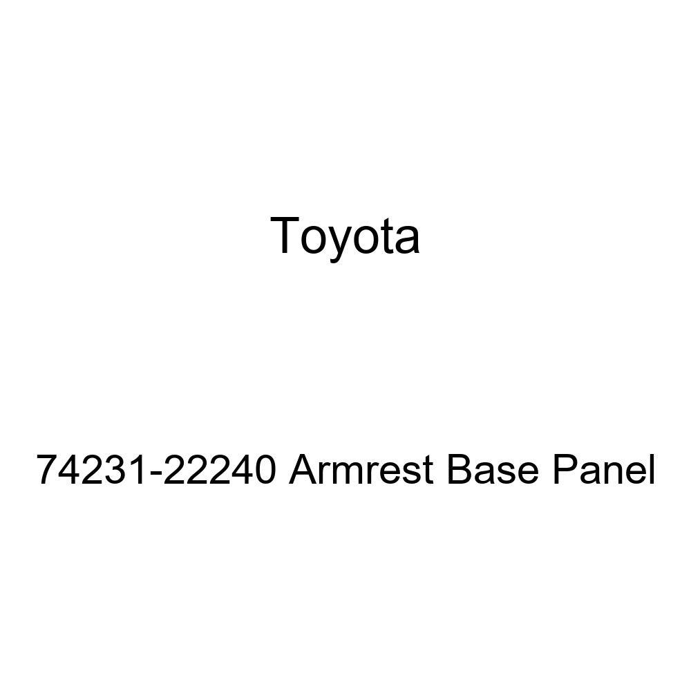 TOYOTA Genuine 74231-22240 Armrest Base Panel
