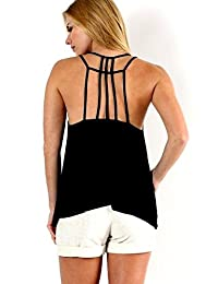 Caged Back Cami Tank
