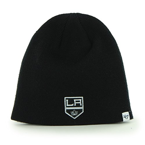 NHL Los Angeles Kings Infant Beanie Knit Hat, One Size, (Over Logo Infant Beanie)