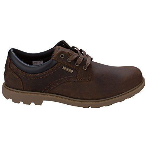 Rockport - Zapatos de cordones para hombre marrón marrón