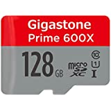Gigastone Prime 128GB Micro SD Card UHS-I U1 up to 95MB/s with Adapter, Rexing, Dashcam, GoPro, Camera, Samsung, Canon, Nikon, DJI, Drone, Full HD
