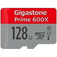 Gigastone Prime 128GB Micro SD Card U1, Including SD Card Adapter, Dashcam, Action Camera, Smartphones, Sony, Canon, DJI, 4K UHD, Full-HD Video Recording[Full HD]