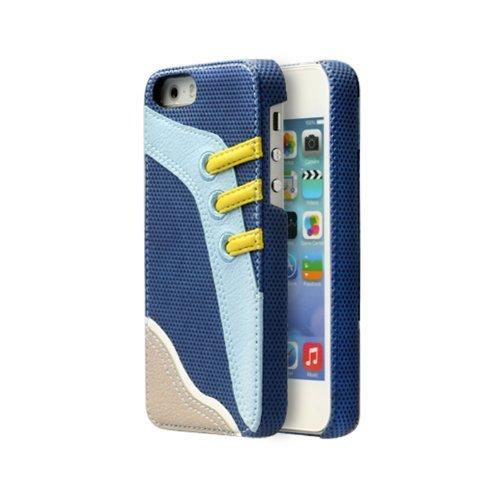 Zenus Sneakers Bar Case/Tasche Blau für Apple iPhone 5C
