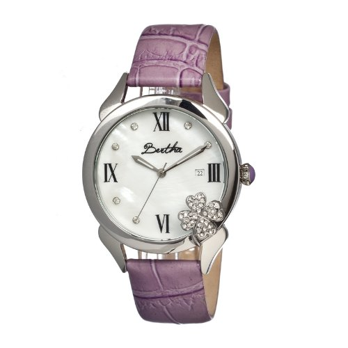 bertha-br2202-4-leaf-clover-ladies-watch