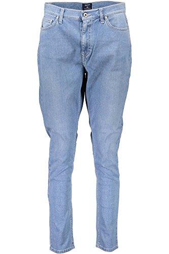 1401 991 Azul Jeans 410524 Gant Denim Mujer qUZ8Zwd