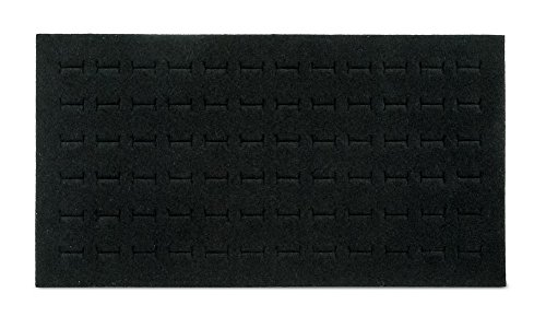 NEW Black 72 Slot Ring Foam Pad Tray Jewelry Display (Slot Foam)