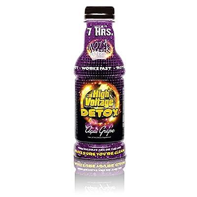 High Voltage Detox Drink 16oz Acai Grape