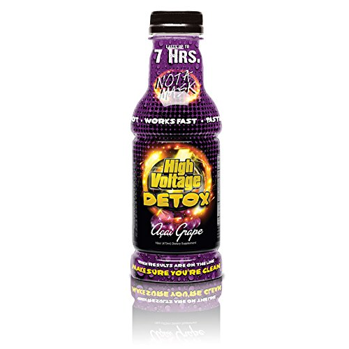 High Voltage Detox Drink 16oz Acai Grape