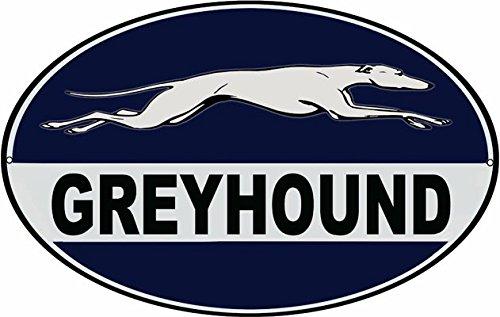 Victory Vintage Nostalgic Reproduction Greyhound Bus Sign...