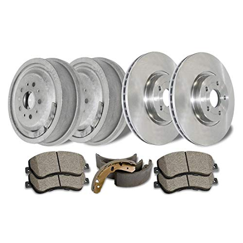 Disc Brake Rotors & Ceramic Pads and Brake Drums and Shoes for Mitsubishi Eclipse