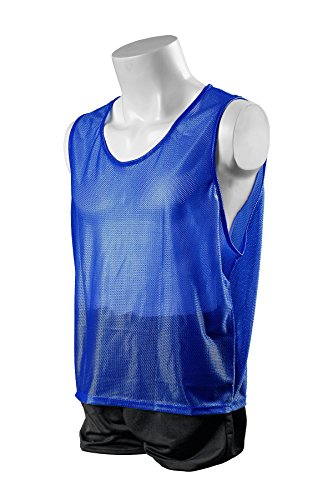Kwik Goal Youth Deluxe Scrimmage Vest, Royal