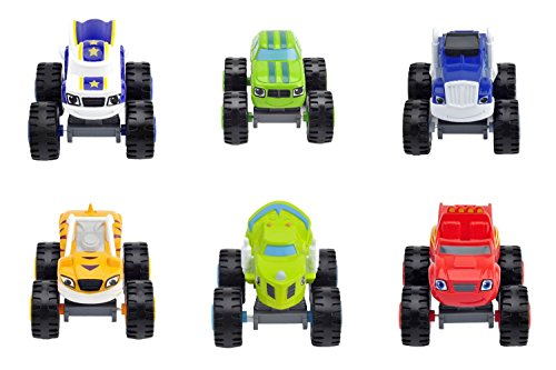 6pcs/set Monster Cars 6 Different Model Machines Toys - Best Gifts For Kids