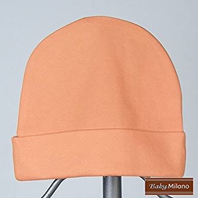 Amazon.com  Orange Baby Hat  Clothing 05e847f15b14