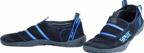 Seac Beach Maya Aquashoes (Black/Blue, 36-37)
