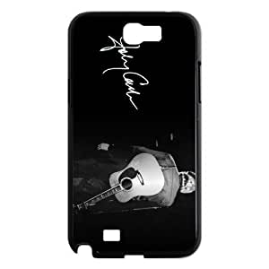 CTSLR Johnny Cash Protective Hard Case Cover Skin for Samsung Galaxy Note 2 N7100-1 Pack- 5