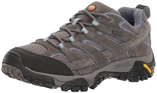 Merrell Women's Moab 2 Waterproof Hiking Shoe, Granite, 8.5 M US (Moab Footwear)