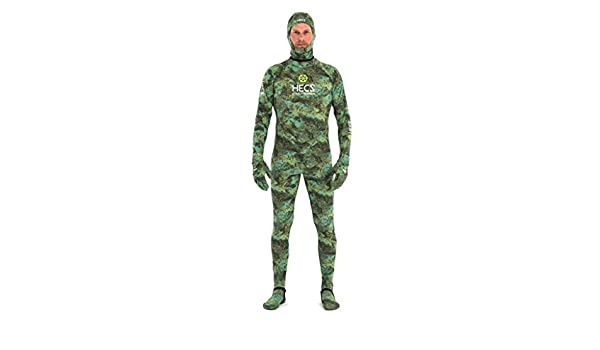 HECS Aquatic Dive Skin Camo Medium