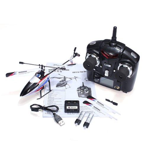 Quickbuying WLtoys V911-pro V911-V2 2.4G 4CH RC Remote Control Helicopter