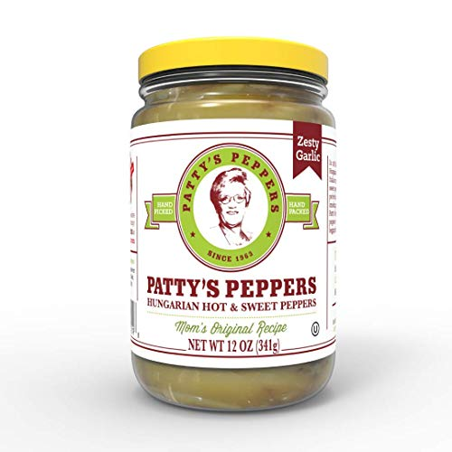 t & Zesty Sauce w/Hungarian Peppers, Fresh Garlic, Natural Spices, Mouth-Watering Flavor Experience | Mom's Original Recipe | 12 oz ()