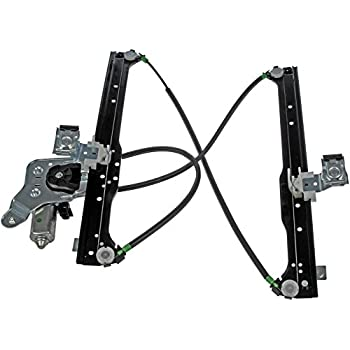 Dorman 741-578 Rear Driver Side Power Window Regulator and Motor Assembly  for Select Cadillac / Chevrolet / GMC Models