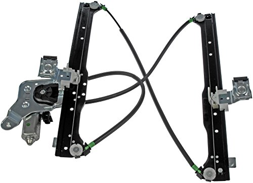 Dorman 741-578 Rear Driver Side Replacement Power Window Regulator with Motor for Select Cadillac/Chevrolet / GMC Trucks - Left Window Motor Regulator