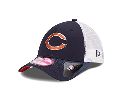 NFL Draft 2015 Chicago Bears Women's 9Forty Adjustable Cap, One Size Fits All, Blue