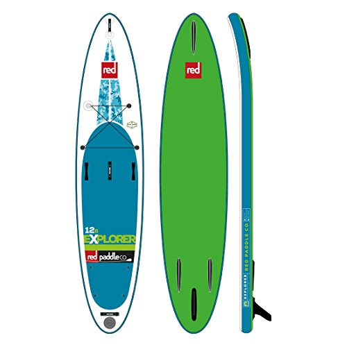 2017 Red Paddle Co 12'6'' x 32'' Explorer Inflatable SUP by RED Paddle