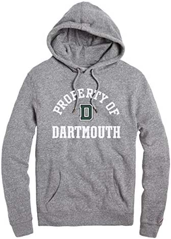 NCAA League Herren Dartmouth Big Green Heritage Hood, Large, Fall Heather