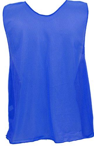 Champion Sports Adult Practice Vests Color: Royal Blue (PSABL) 12pk