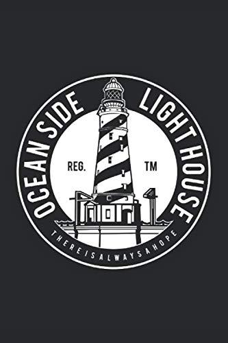 (Oceanside Lighthouse Notebook: 6x9inch Oceanside Lighthouse Notebook blank College-Ruled )