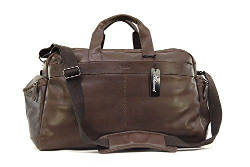 Leather Bag Brown Highbury Holdall Weekend Ashwood Travel WHxZPgnc1